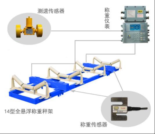 圣能科技ICS-14A型防爆皮带秤
