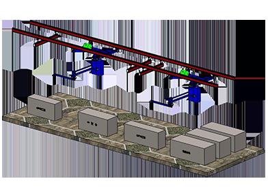 KBK轨道式搬运系统的图片