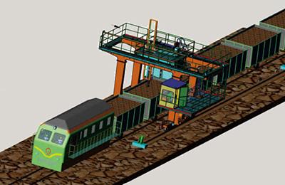 火车采样机的图片