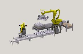 码垛机器人的图片